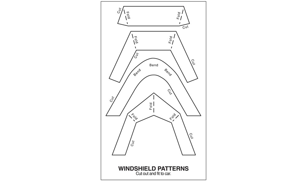 Windshield Kit