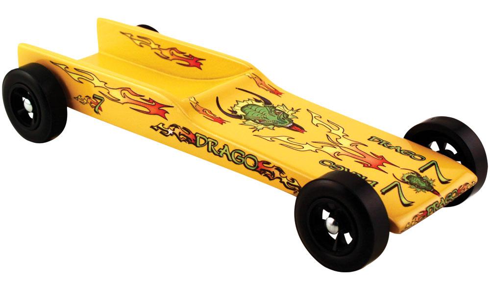 Aerodynamic derby car designs electrical schematic